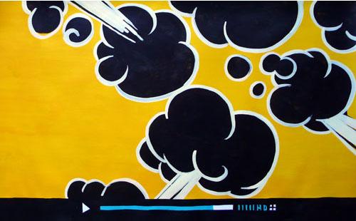 pintura acrílica (0,60x0,90m)